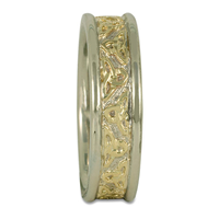Trinity Strand Ring in 14K Yellow Gold