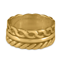 Stan Ring in 14K Yellow Gold