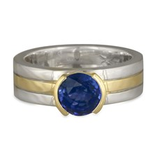 Marcello Engagement Ring in Sapphire