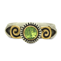 Medina Ring in Peridot