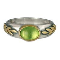Roman Ring in Peridot