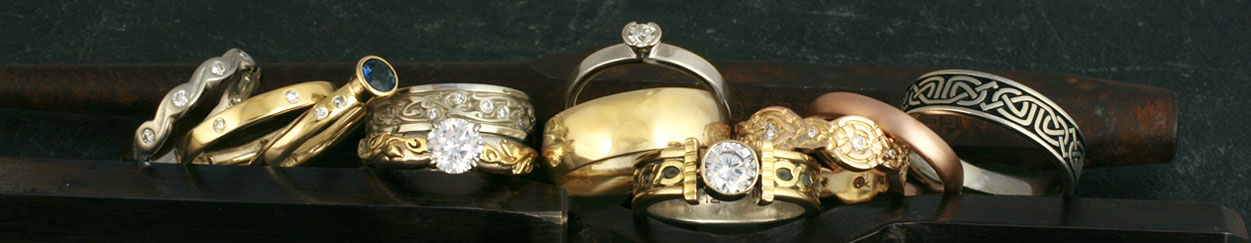 Fairtrade Yellow Gold Engagement Rings