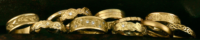 Fairtrade Yellow Gold Wedding Rings
