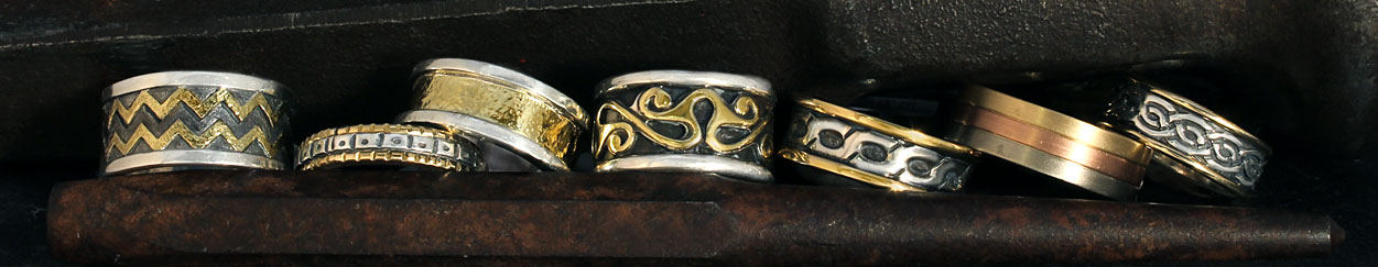 Fair Trade Gold Mens Rings