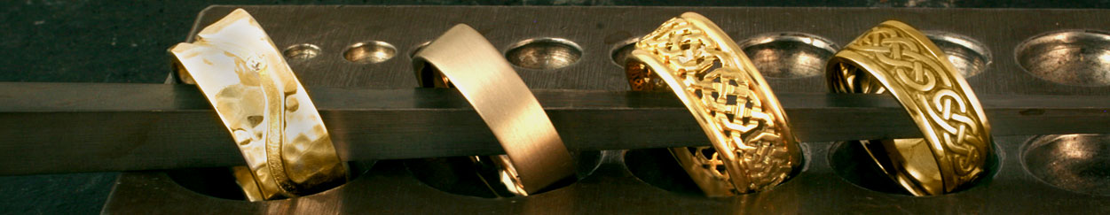 Men's Fairtrade Yellow Gold Wedding Rings