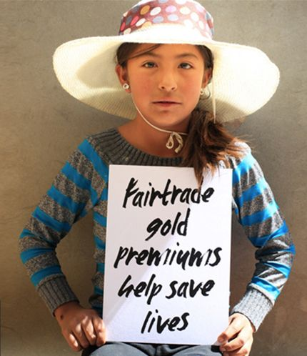Face of Fairtrade Gold